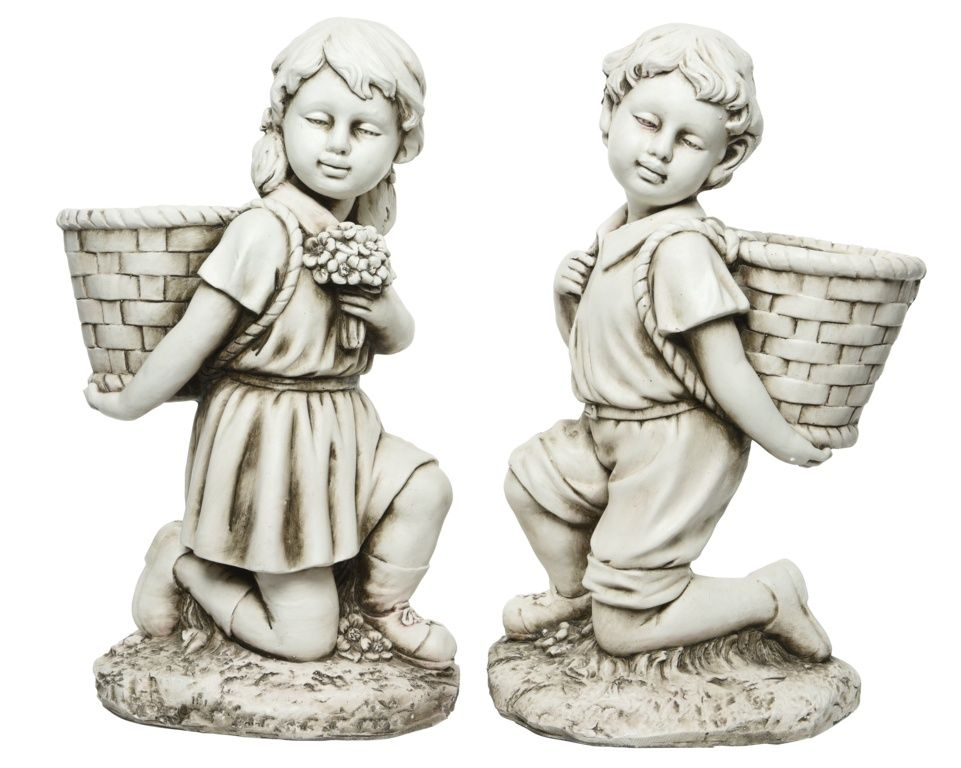 Kaemingk Magn Child With Planter - 23 x 34 x 57